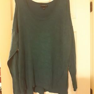 Lane Bryant Teal Sweater
